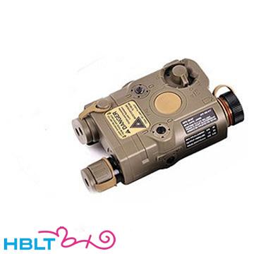 【VFC(ベガフォース)】LED フラッシュライト AN/PEQ15タイプ(FDE)|AIM-PEQ15-TN01/VEGA Force company GB-TECH