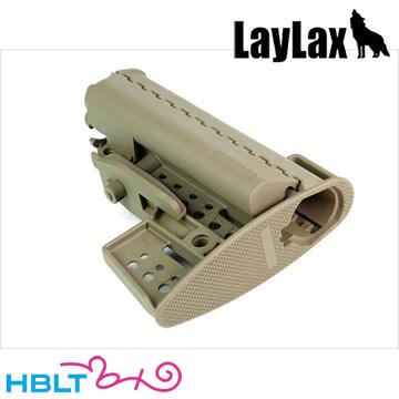 【ライラクス(LayLax)】M16 リトラクタブル ストックVL セラコートVer Magpul DE/カスタム/パーツ/First-Factory/ファーストファクトリー