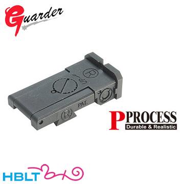 ガーダー リアサイト 東京マルイ ハイキャパ 5.1 Bomar Type (スチール) /Guarder カスタムパーツ HI-CAPA CAPA-34(B) サバゲー