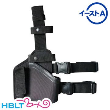 【イースト.A(East.A)】レッグ ホルスター MP7A1(Black)|型番:127 BK