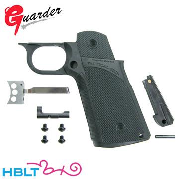 ガーダー タクティカル グリップセット 東京マルイ ガスブローバック ハイキャパ 用 (Black) /Guarder カスタムパーツ Hi-CAPA CAPA-19(BK)