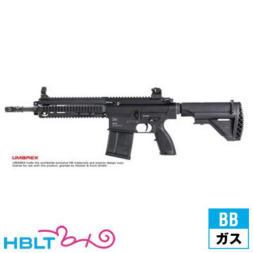 VFC UMAREX HK417 12 Black ガスブローバックガン 本体 /ガス エアガン HK H&K VF2-LHK417-BK01 サバゲー 銃