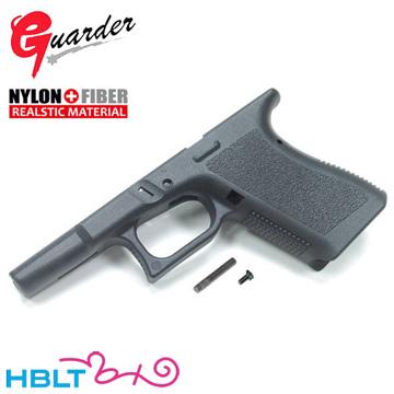 ガーダー オリジナル フレーム Gen.2 KJ グロック19 グロック23 (Black uro Ver.) /Guarder カスタムパーツ Glock19 G19 Glock23 G23 Glock-161(BK)