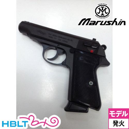 マルシン ワルサー PP HW Black モデルガン 発火式 完成 /WALTHER 銃