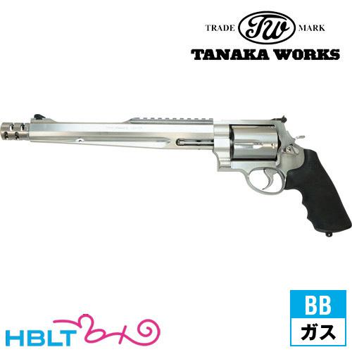 タナカワークス S&W M500 Ver.2 ステンレス/シルバー 10.5インチ ガスガン リボルバー 本体 /ガス エアガン タナカ tanaka SW Xフレーム サバゲー 銃