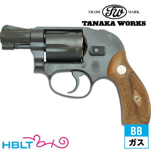 タナカワークス S&W M49 ボディーガード 1966 Early Model HW ブラック 2インチ ガスガン リボルバー 本体タナカ tanaka SW Jフレーム Body Guard エアガン サバゲー 銃
