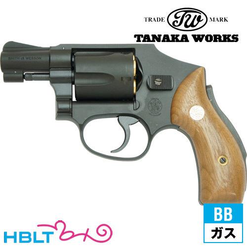 【タナカワークス(Tanaka)】S&W M40 センチニアル1966 Early Model HW ブラック 2インチ(ガスガン/リボルバー本体)/SW/Smith & Wesson/Jフレーム/エアガン