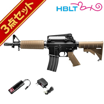 フルセット 東京マルイ コルト M933コマンド 電動ガン バッテリー 充電器セット /電動 エアガン サバゲー 銃