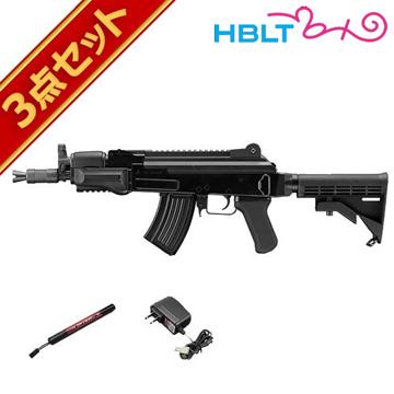 フルセット 東京マルイ AK47 HC ハイサイクル電動ガン バッテリー 充電器セット /電動 エアガン サバゲー 銃