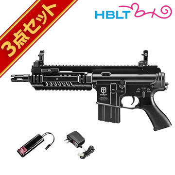 フルセット 東京マルイ M4 パトリオット HC ハイサイクル電動ガン バッテリー 充電器セットエアガン サバゲー 銃