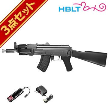 フルセット 東京マルイ AK47 β スペツナズ 電動ガン バッテリー 充電器セット /電動 エアガン サバゲー 銃