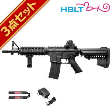 フルセット 東京マルイ M4 CQB-R ブラック 次世代電動ガン バッテリー 充電器セット /電動 エアガン サバゲー 銃