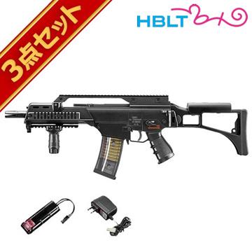 フルセット 東京マルイ H&K G36C 次世代電動ガン バッテリー 充電器セットHK エアガン サバゲー 銃