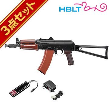 フルセット 東京マルイ AKS74U 次世代電動ガン バッテリー 充電器セットエアガン サバゲー 銃