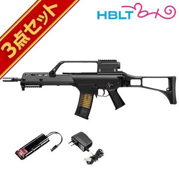 フルセット 東京マルイ G36K 次世代電動ガン バッテリー 充電器セット /電動 エアガン サバゲー 銃