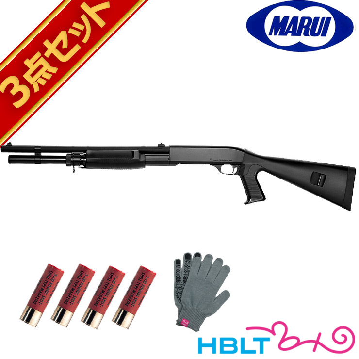東京マルイ M3 スーパー90 エアーショットガン マガジンセット /エアガン POLICE SWAT 散弾銃 Benelli Super90 エアショットガン スターター サバゲー 銃