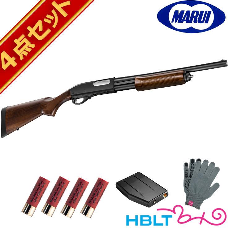 東京マルイ M870 ウッドストックタイプ ガスショットガン フルセットレミントン 散弾銃 wood stock スターター エアガン サバゲー 銃