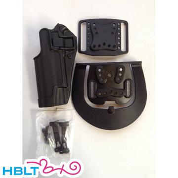 【Blackhawk(ブラックホーク)】CQCホルスター 東京マルイ M1911A1/ MEU/ S70 対応 左用(ブラック)|410503BK-L