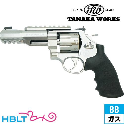 【タナカワークス(Tanaka)】S&W M327 PC M&P R8 ver.2 シルバー 5インチ(ガスガン/リボルバー本体)/SW/Smith & Wesson/Perfomance Center/パフォーマンス/センター/エアガン