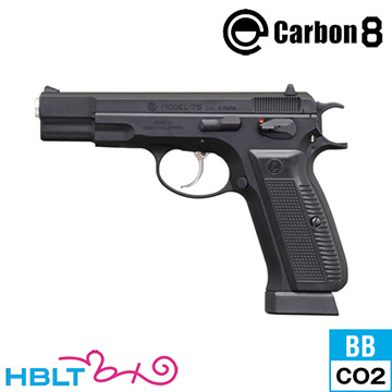 Carbon8 Cz75 Cz75 銃 2nd.version ABS ブラック ブラック CO2 ブローバック 本体/ガス エアガン CB01BK サバゲー 銃, ペットの矢野橋:03a76388 --- sunward.msk.ru
