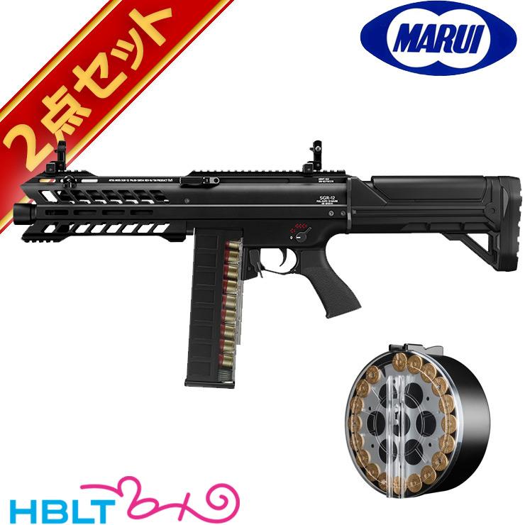 割引発見 東京マルイ 電動ショットガン SGR-12 エアガン SGR-12 ドラムマガジンセット/電動 エアガン SGR12 FET SGR12 電子スイッチ方式 散弾銃 セット マガジン サバゲー 銃, ハガグン:1b8ad0c4 --- inglin-transporte.ch