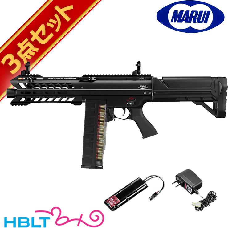 速くおよび自由な 東京マルイ 電動ショットガン SGR-12 バッテリー・充電器フルセット/電動 エアガン サバゲー バッテリー SGR12 FET FET 電子スイッチ方式 散弾銃 セット バッテリー サバゲー 銃, 茶専科 ティチャイチャイ:13f7ba19 --- inglin-transporte.ch