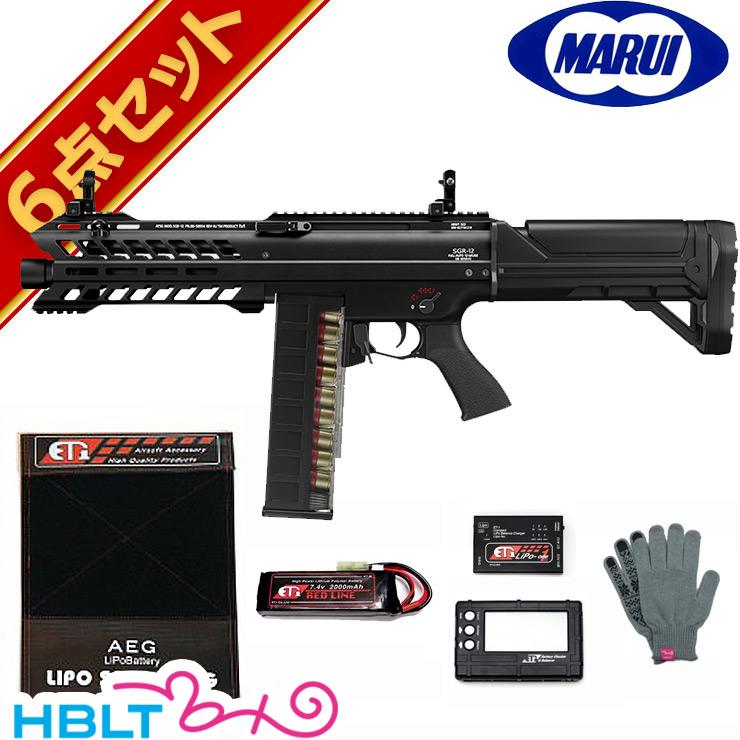 【東京マルイ】電動ショットガン SGR-12 LiPoバッテリーフルセット /エアガン/FET/電子スイッチ方式/散弾銃/LI-PO/フルセット