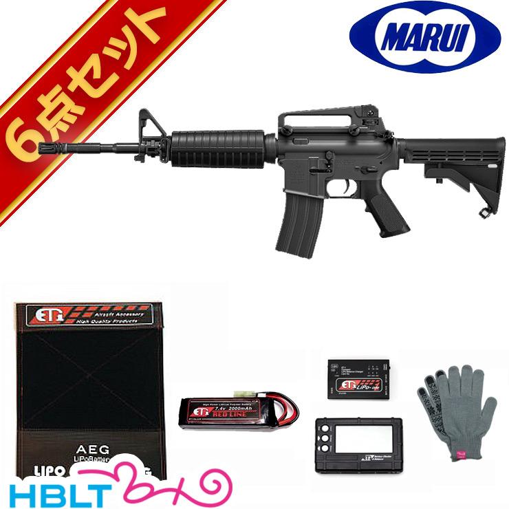 【東京マルイ】コルト M4A1 電動ガン LiPoバッテリー フルセット /エアガン/コルト