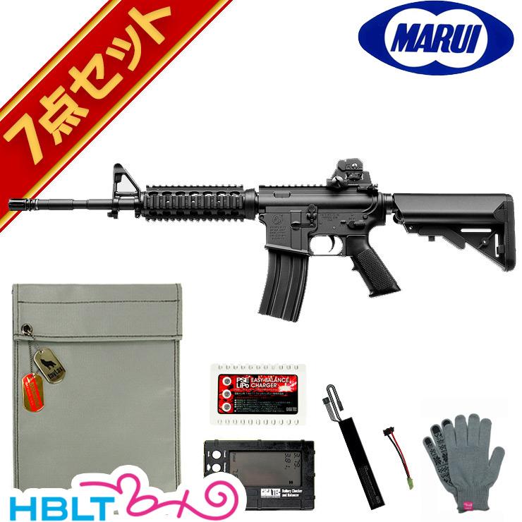 【東京マルイ】コルト M4 SOPMOD 次世代電動ガン LiPoバッテリー フルセット /エアガン/コルト/リポ/フルセット