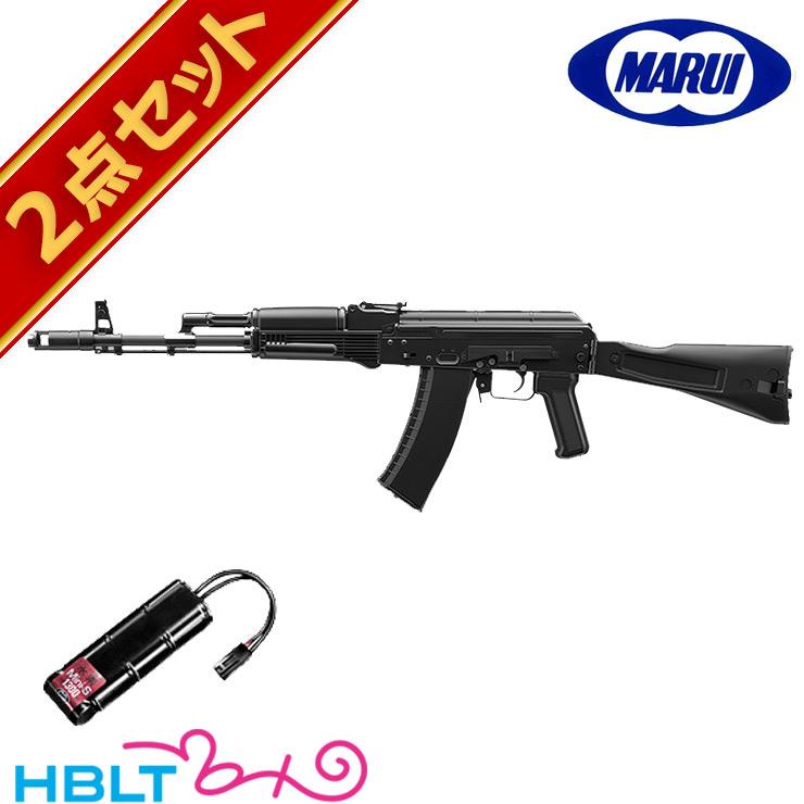 東京マルイ AK74MN 次世代電動ガン バッテリーセット (本体+バッテリー) /電動 エアガン フルセット サバゲー 銃