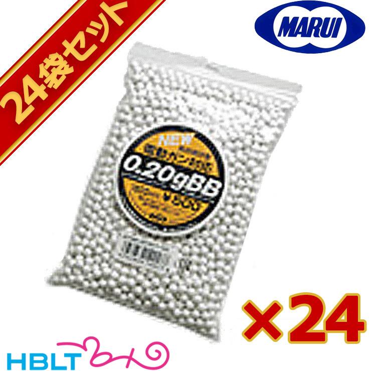 【送料無料】 新品未開封 東京マルイ BB弾 0.20g(約1600発)24袋セット /サバゲー
