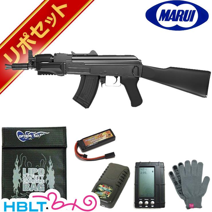 東京マルイ AK47 B-スペツナズ スタンダード電動ガン リポバッテリー フルセット /電動 エアガン リポ LIPO Li-Po サバゲー 銃
