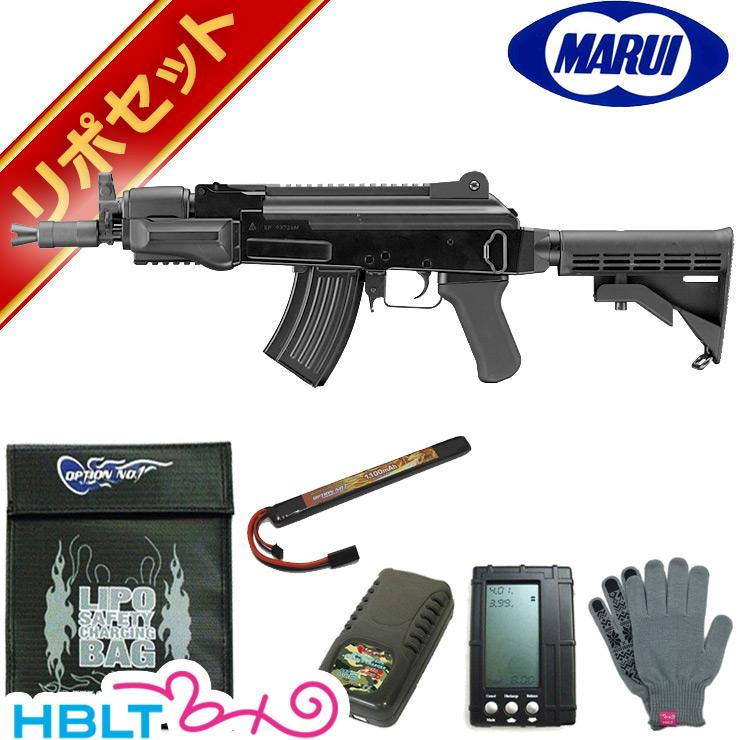東京マルイ AK47 HC ハイサイクル電動ガン リポバッテリー フルセット/リポ LIPO Li-Po AK