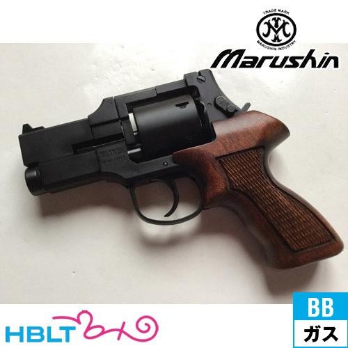 マルシン マテバ ショート Xカート仕様 最高級ブナ製 木製グリップ付 ABS マットブラック(ガスガン/リボルバー本体 6mm)/MATEBA