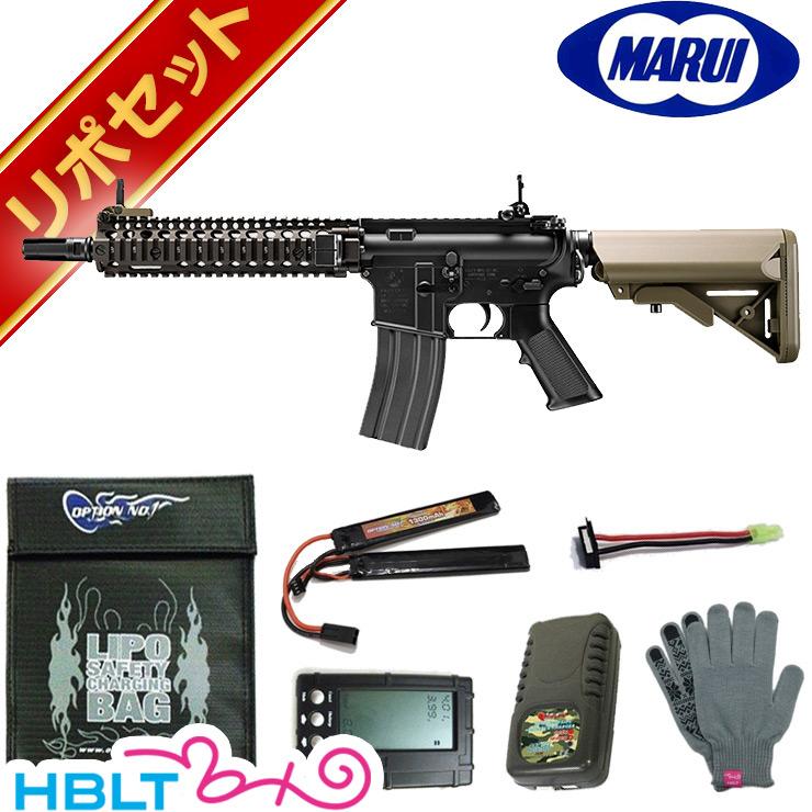 東京マルイ 次世代電動ガン MK18 Mod.1 リポバッテリー フルセット   /LiPo エアガン コルト COLT M4 ショート マーク18 TAN サバゲー 銃