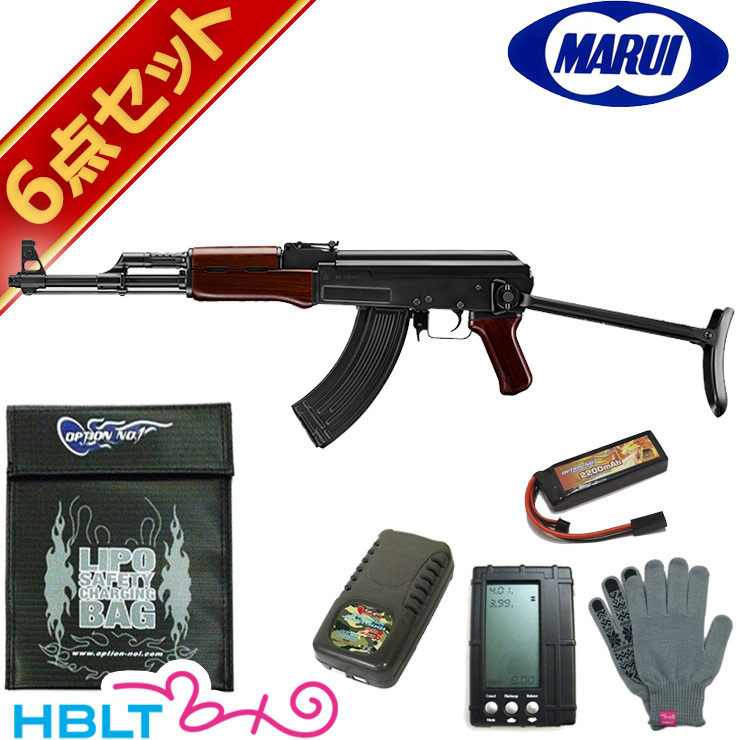 送料無料 18歳以上 定価の67%OFF 値引き 東京マルイ AKS47 TYPE-3 次世代電動ガンリポバッテリー フルセット サバゲー 銃 エアガン ソ連 AK47 ロシア LiPo