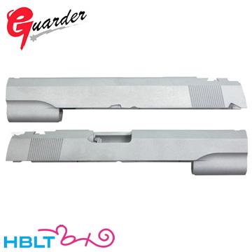 ガーダー スライド 東京マルイ ガスブロ ハイキャパ 5.1 用(アルミ シルバー) /Guarder Hi-Capa HC