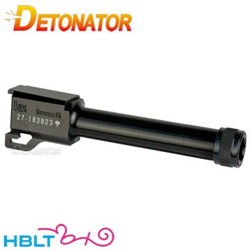 デトネーター アウターバレル 東京マルイ ガスブロ USP Compact 用(14mm逆ネジ アルミ ブラック)|OB-TM14ABK /DETONATOR H&K HK USP コンパクト