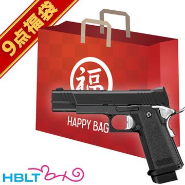 2019 福袋 ハイキャパ DOR ガスハンドガン フルセット ! 東京マルイ /D.O.R マイクロプロサイト HI-CAPA 45Auto ガバメント ダブルカラム サバゲー 銃