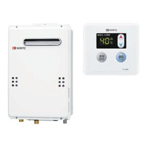 【LPガス用】 GQ-2039WS-1 台所リモコンRC-7606Mセット 送料無料 ノーリツ ガス給湯器 給湯専用 ユコアGQシリーズ オートストップなし