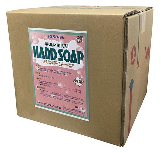 リスダンケミカル ハンドソープ 洗剤 業務用 手洗い 除菌 洗浄 泡立ち 18L