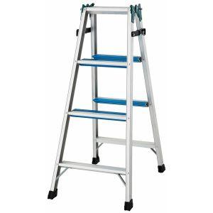 長谷川工業 アルミ合金製はしご兼用脚立 バイッと脚立 RW2.0-12【メーカー直送の為代引不可】