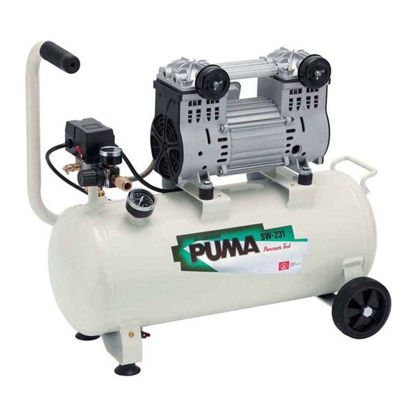 低騒音 日本最大級の品揃え 毎週更新 最高圧力1.0MPaオイルレスエアーコンプレッサ SK11 オイルレス エアーコンプレッサー SW-231 SW-L30LPF-01 低騒音モデル