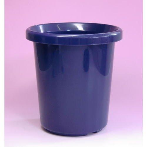 シンプルなプラ鉢 観葉植物などに ◆高品質 アップルウェアー 長鉢F型 ブルー 8号 メーカー直送の為代引不可 送料無料 メーカー公式