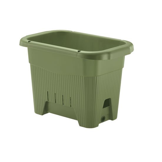 授与 半額 菜園上手シリーズの底面給水プランター リッチェル 水ラク 菜園上手45型 グリーン メーカー直送の為代引不可 送料無料