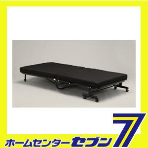 折りたたみ ベッド ブラック OTB-TR シングルベッド アイリスオーヤマ [コンパクト 14段階リクライニング 寝具 簡易ベッド おりたたみ 折り畳み]