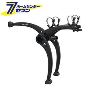 TERZO(テルッツォ) リアサイクルキャリア EC16BK 2台積み ブラック TERZO [サイクルキャリア 自動車]【キャッシュレス5%還元】