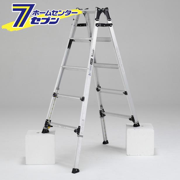 幅広伸縮脚立 約150cm PRW150FX アルインコ ALINCO [はしご ハシゴ 梯子 園芸用品]【キャッシュレス5%還元】
