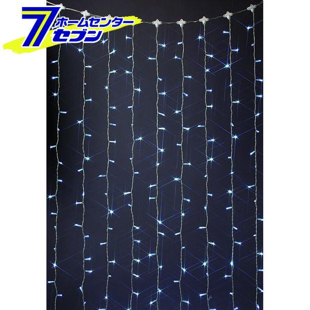LED カーテンライト 360球 白色 LR360SW (連結専用) (電源部別売り) クロスライセンス品  コロナ産業 [lr360sw イルミネーション ライト led クリスマス コロナライト]【キャッシュレス 還元】