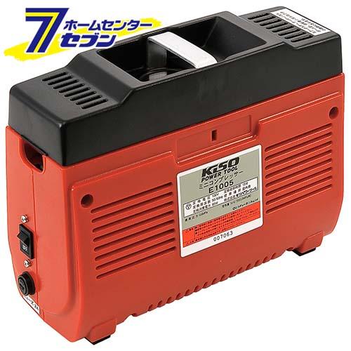 ピストン式コンプレッサー E1005 キソパワーツール [タイヤ ボール 空気入れ 電動工具 ツール プロクソン]【キャッシュレス5%還元】